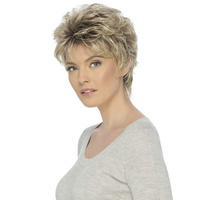 Delaney Short Layered Wavy Wig
