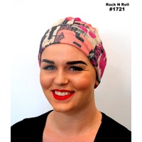 Rock N Roll Turban Headwear